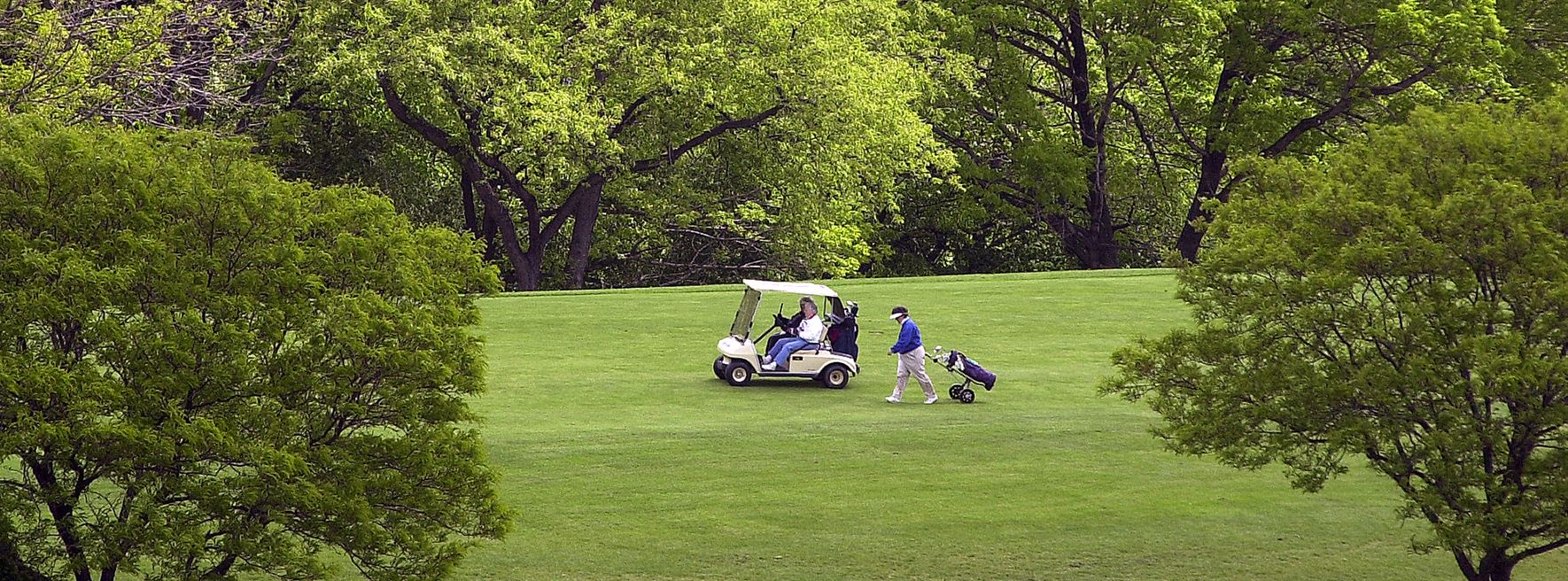 Mt. Lebanon's golf course is just one of its top-notch recreation facilities that provide fun and